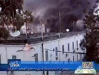 <B>Vignette, 11 morti durante la protesta<br>davanti al consolato italiano di Bengasi</B>